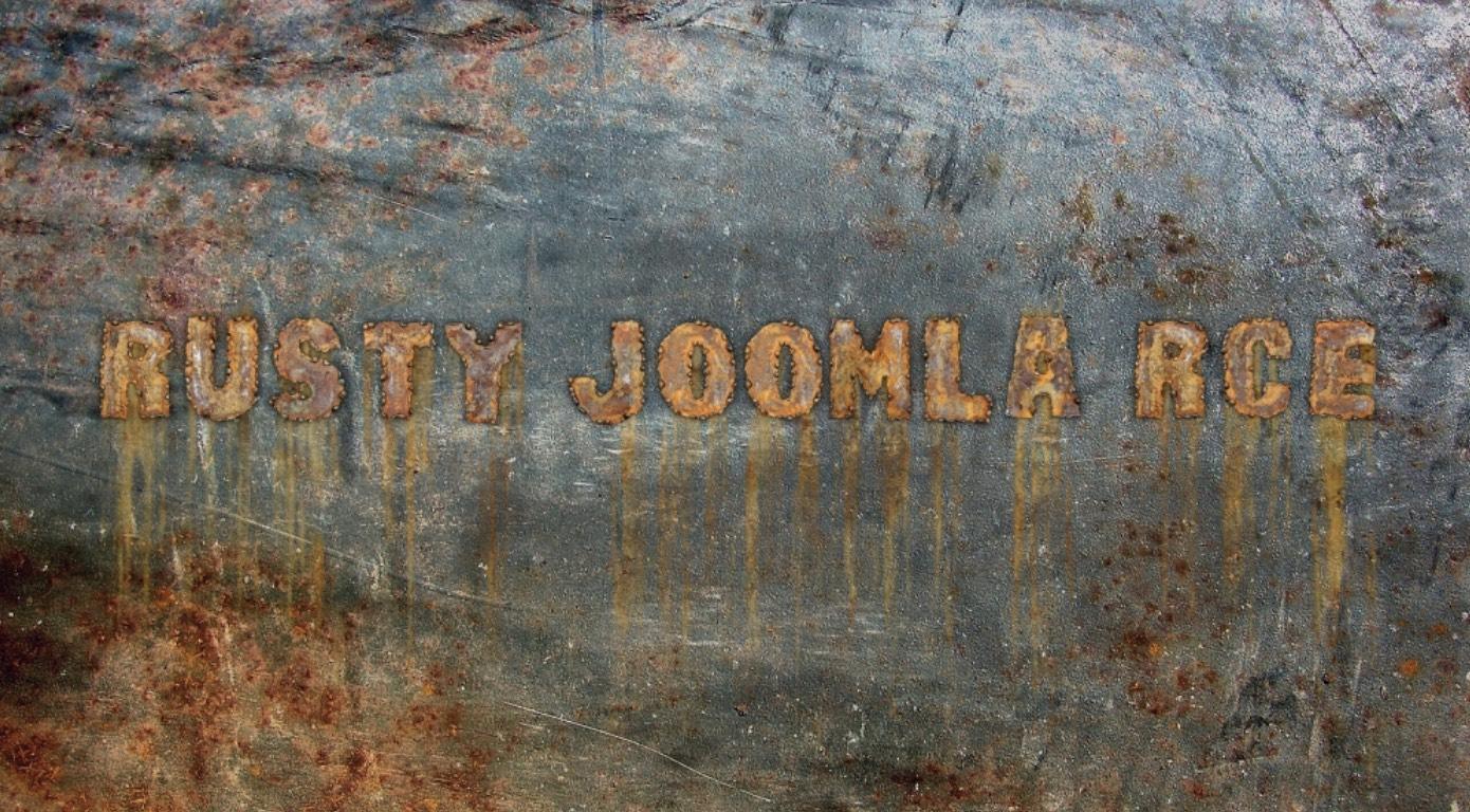 Rusty Joomla RCE
